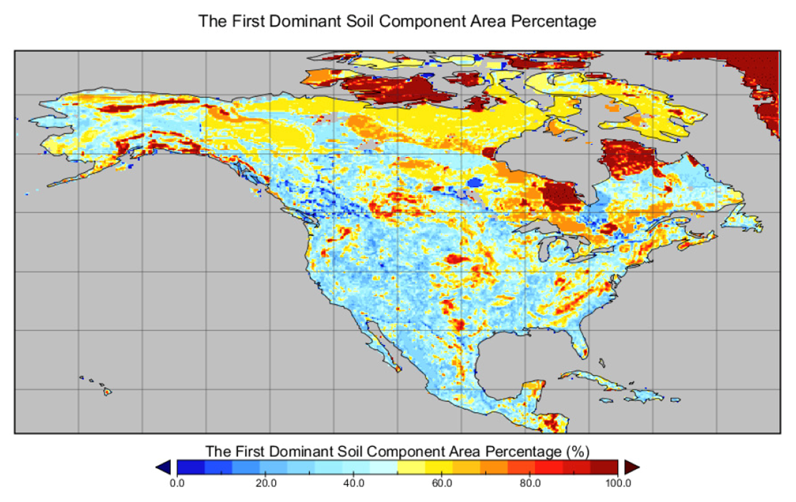 Nacp Mstmip Unified North American Soil Map