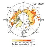 LPJ WhyMe permafrost distribution